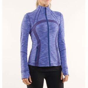 Lululemon Define Jacket Royalty Space Dye Purple